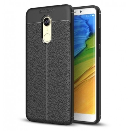 Coque Silicone Xiaomi Redmi 5 Plus Cuir 3D
