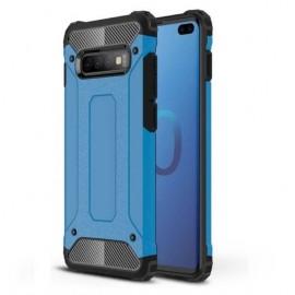 Coque Samsung Galaxy S10 Plus Anti Choques Bleue