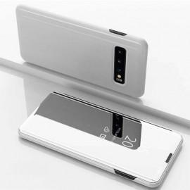 Etuis Samsung Galaxy S10 Plus Cover Translucide Argent