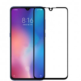 Verre Trempé Xiaomi Mi 9 SE protecteur d'écran Noir