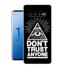 Coque Silicone Samsung Galaxy S10 Plus Confiance