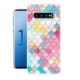 Coque Silicone Samsung Galaxy S10 Plus Aquarelles