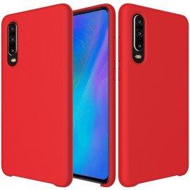 Coque Xiaomi MI 9 SE Silicone Liquide touché très doux rouge