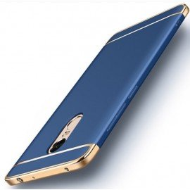 Coque Xiaomi Redmi 5 Plus Rigide Chromée Bleue