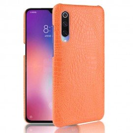 Coque Xiaomi MI 9 SE Croco Cuir Orange