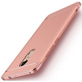 Coque Xiaomi Redmi 5 Plus Rigide Chromée Rose