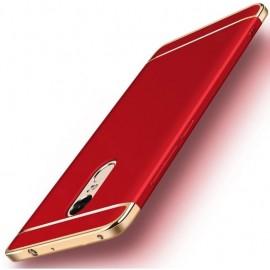 Coque Xiaomi Redmi 5 Plus Rigide Chromée Rouge