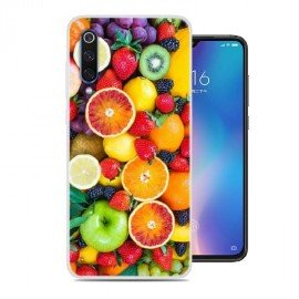 Coque Silicone Xiaomi MI 9 SE Fruits