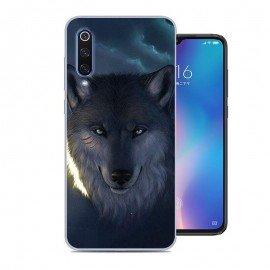 Coque Silicone Xiaomi MI 9 SE Loup