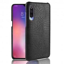 Coque Xiaomi MI 9 SE Croco Cuir Noire