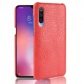Coque Xiaomi MI 9 SE Croco Cuir Rouge