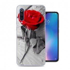 Coque Silicone Xiaomi MI 9 SE Rose
