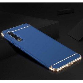 Coque Huawei P30 Rigide Chromée Bleue