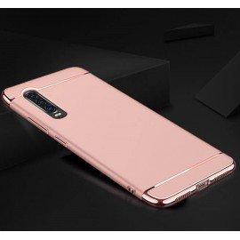 Coque Huawei P30 Rigide Chromée Rose