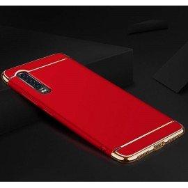 Coque Huawei P30 Rigide Chromée Rouge