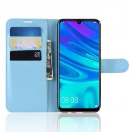Etuis Portefeuille Huawei P30 Simili Cuir Bleu