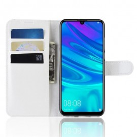 Etuis Portefeuille Huawei P30 Simili Cuir Blanche