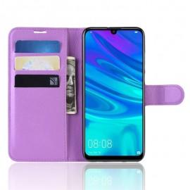 Etuis Portefeuille Huawei P30 Simili Cuir Violette
