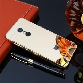Bumper Xiaomi Redmi 5 Plus Aluminium Mirroir Doré