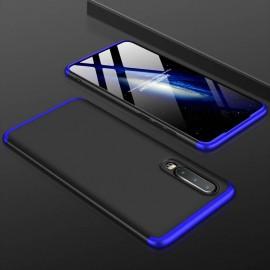 Coque 360 Huawei P30 Noir et Bleue