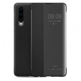 Etuis Huawei P30 Noir Smart Cover
