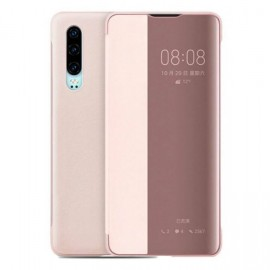 Etuis Huawei P30 Rose smart Cover