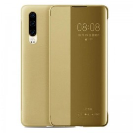 Etuis Huawei P30 Doré Smart Cover