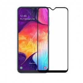 Verre Trempé Samsung Galaxy A50 Protecteur d'écran Noir