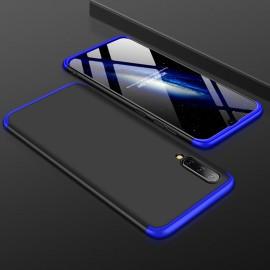 Coque 360 Samsung Galaxy A50 Noir et Bleue