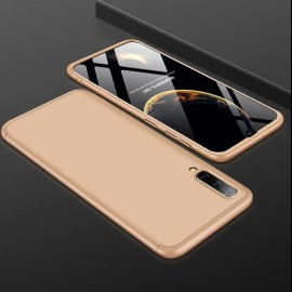 Coque 360 Samsung Galaxy A50 Dorée