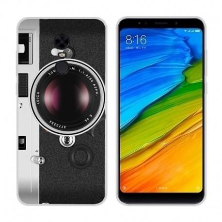 Coque Silicone Xiaomi Redmi 5 Plus Camera