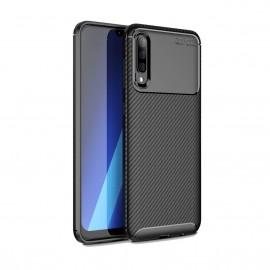 Coque Samsung Galaxy A50 Carbone TPU Noire
