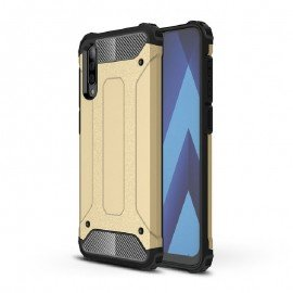 Coque Samsung Galaxy A50 Anti Choques Dorée