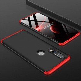 Coque 360 Huawei P30 Lite  Noir et Rouge