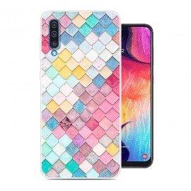 Coque Silicone Samsung Galaxy A50 Aquarelles