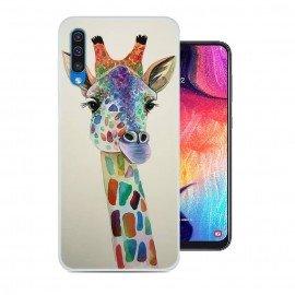 Coque Silicone Samsung Galaxy A50 Girafe