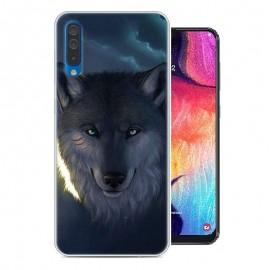 Coque Silicone Samsung Galaxy A50 Loup