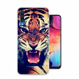 Coque Silicone Samsung Galaxy A50 Tigre