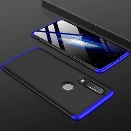 Coque 360 Huawei P30 Lite Noir et Bleue