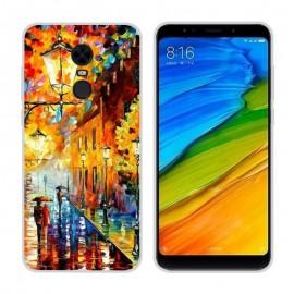 Coque Silicone Xiaomi Redmi 5 Plus Peinture