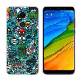 Coque Silicone Xiaomi Redmi 5 Plus Geek