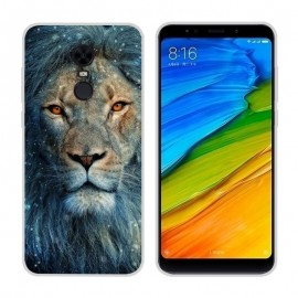 Coque Silicone Xiaomi Redmi 5 Plus Lion