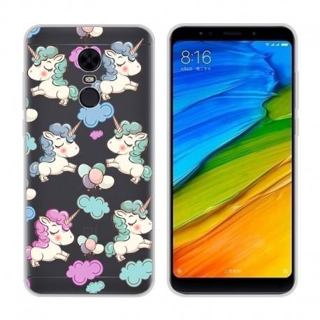 Coque Silicone Xiaomi Redmi 5 Plus Licorne