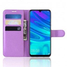 Etuis Portefeuille Huawei P30 Lite Simili Cuir Violette