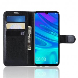 Etuis Portefeuille Huawei P30 Lite Simili Cuir Noir