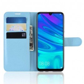 Etuis Portefeuille Huawei P30 Lite Simili Cuir Bleu