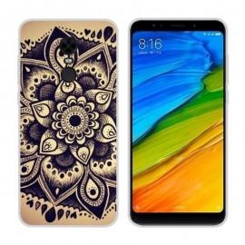 Coque Silicone Xiaomi Redmi 5 Plus Fleur