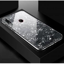 Coque Huawei P30 Lite Silicone Noire et Verre Trempé