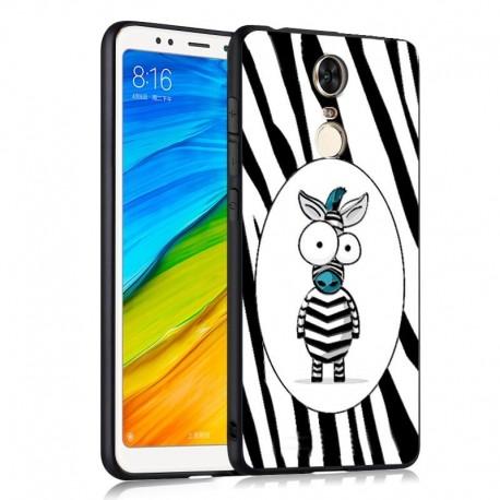 Coque Silicone Xiaomi Redmi 5 Plus Zebre