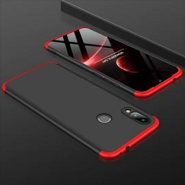 Coque 360 Xiaomi Redmi 7 Noir et Rouge